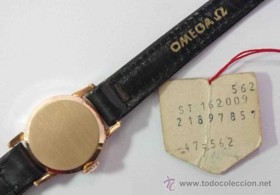 Relojes - Omega: RELOJ OMEGA MUJER CAJA DE ORO DE 18 QUILATES.- OMEGA WATCH WOMEN GOLD BOX 18 Carat. - Foto 3 - 37918263