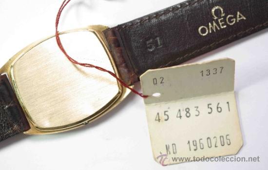 Relojes - Omega: RELOJ OMEGA CAJA DE ORO DE 18 quilates - OMEGA WATCH BOX 18K GOLD - Foto 2 - 38847488