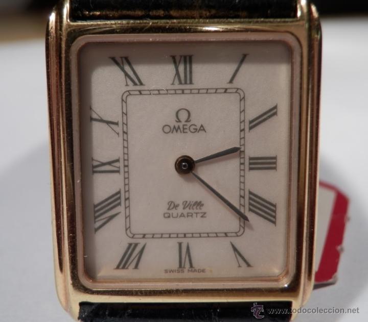 OMEGA DE VILLE RIVOLI QUARTZ (NOS = NEW OLD STOCK) (Relojes - Relojes Actuales - Omega)