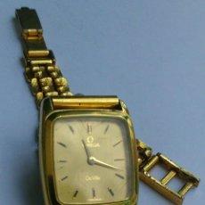 Relojes - Omega: OMEGA DE VILLE ORIGINAL - RELOJ PULSERA VINTAGE DE MUJER - BAÑO DE ORO - REPARAR O PARA PIEZAS. Lote 57588364