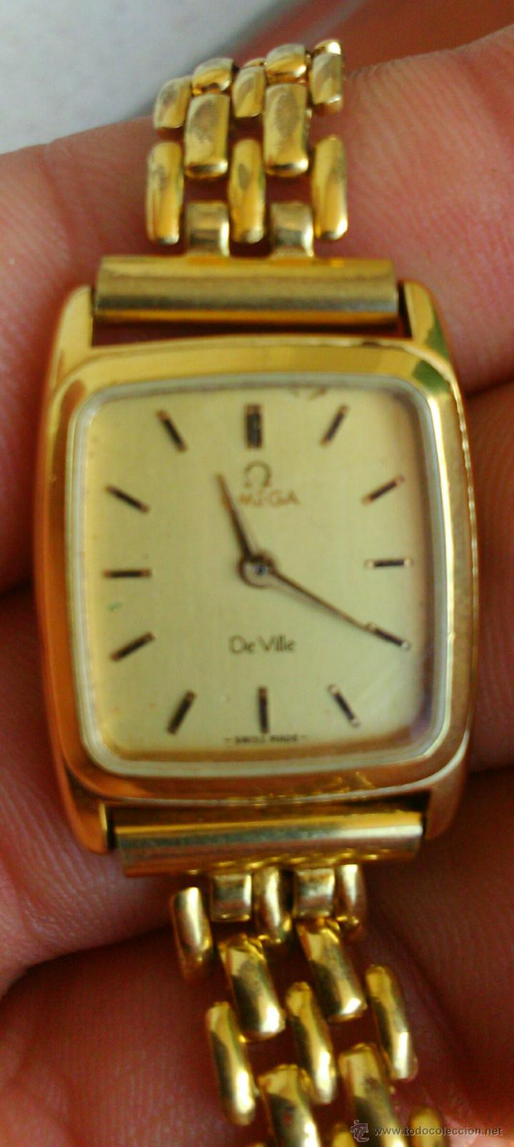 Relojes - Omega: OMEGA DE VILLE ORIGINAL - RELOJ PULSERA VINTAGE DE MUJER - BAÑO DE ORO - REPARAR O PARA PIEZAS - Foto 2 - 57588364