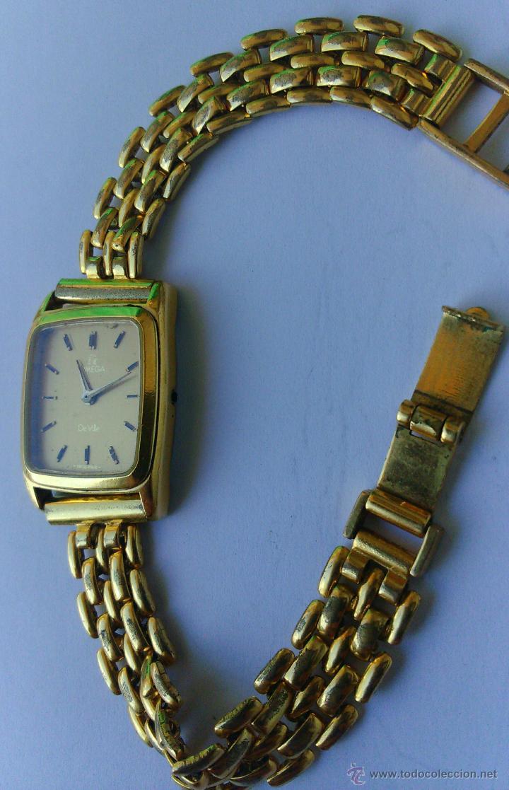 Relojes - Omega: OMEGA DE VILLE ORIGINAL - RELOJ PULSERA VINTAGE DE MUJER - BAÑO DE ORO - REPARAR O PARA PIEZAS - Foto 3 - 57588364