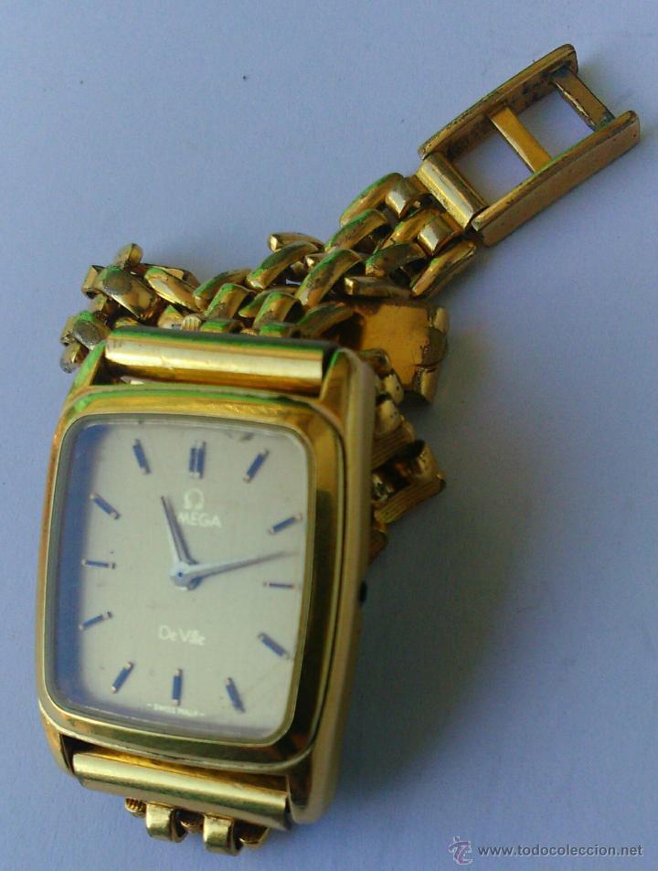 Relojes - Omega: OMEGA DE VILLE ORIGINAL - RELOJ PULSERA VINTAGE DE MUJER - BAÑO DE ORO - REPARAR O PARA PIEZAS - Foto 4 - 57588364