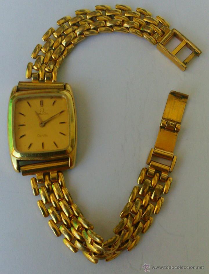 Relojes - Omega: OMEGA DE VILLE ORIGINAL - RELOJ PULSERA VINTAGE DE MUJER - BAÑO DE ORO - REPARAR O PARA PIEZAS - Foto 5 - 57588364