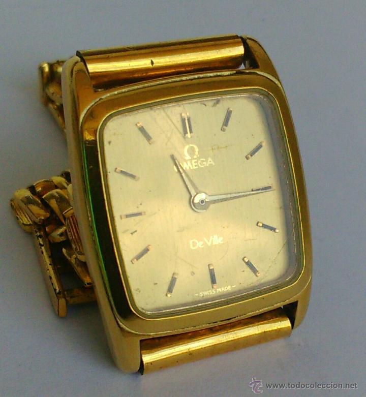 Relojes - Omega: OMEGA DE VILLE ORIGINAL - RELOJ PULSERA VINTAGE DE MUJER - BAÑO DE ORO - REPARAR O PARA PIEZAS - Foto 6 - 57588364