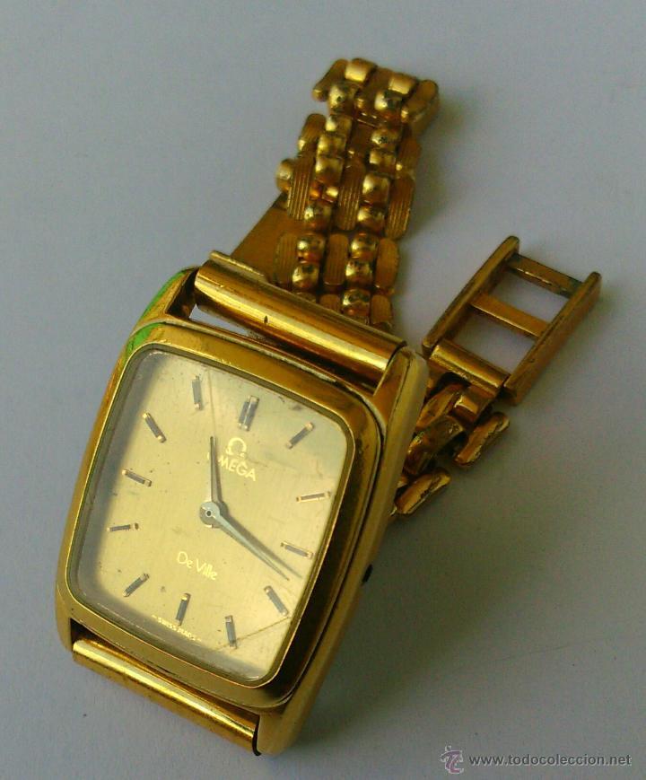 Relojes - Omega: OMEGA DE VILLE ORIGINAL - RELOJ PULSERA VINTAGE DE MUJER - BAÑO DE ORO - REPARAR O PARA PIEZAS - Foto 7 - 57588364