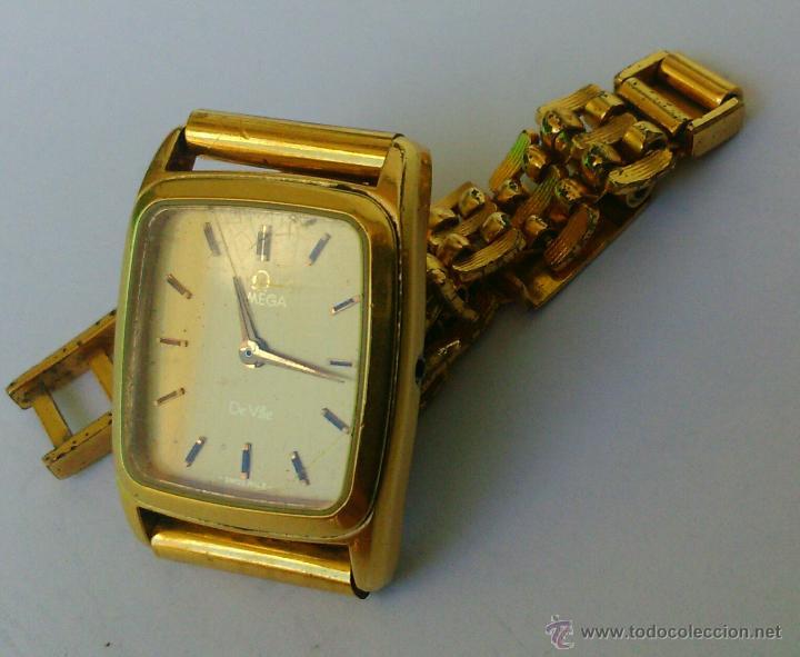 Relojes - Omega: OMEGA DE VILLE ORIGINAL - RELOJ PULSERA VINTAGE DE MUJER - BAÑO DE ORO - REPARAR O PARA PIEZAS - Foto 8 - 57588364