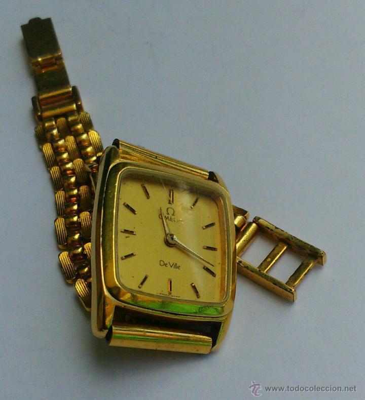 Relojes - Omega: OMEGA DE VILLE ORIGINAL - RELOJ PULSERA VINTAGE DE MUJER - BAÑO DE ORO - REPARAR O PARA PIEZAS - Foto 10 - 57588364