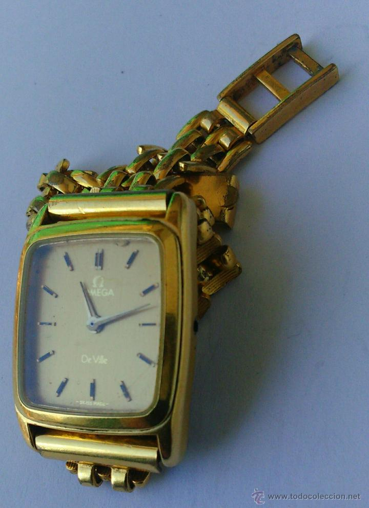 Relojes - Omega: OMEGA DE VILLE ORIGINAL - RELOJ PULSERA VINTAGE DE MUJER - BAÑO DE ORO - REPARAR O PARA PIEZAS - Foto 12 - 57588364