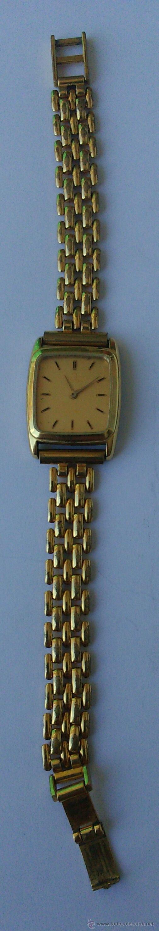 Relojes - Omega: OMEGA DE VILLE ORIGINAL - RELOJ PULSERA VINTAGE DE MUJER - BAÑO DE ORO - REPARAR O PARA PIEZAS - Foto 13 - 57588364