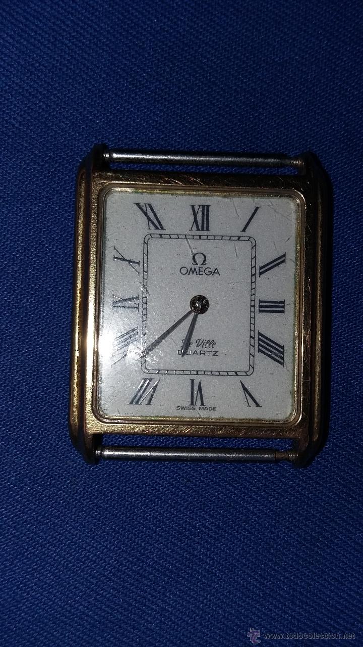 RELOJ OMEGA DE VILLE- FUNCIONANDO PERO NECESITA REPARACION DEL PULSOR. (Relojes - Relojes Actuales - Omega)