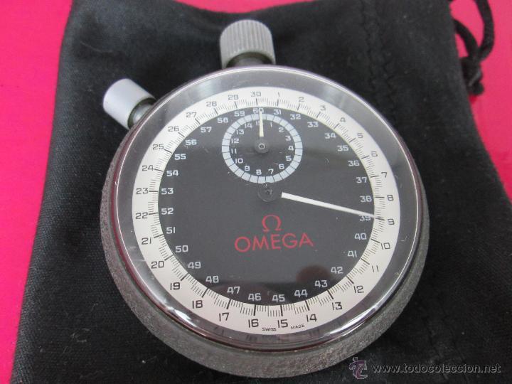 Relojes - Omega: AºCRONÓMETRO-SUIZO-OMEGA ROTRANTE ORIGINAL-COMO NUEVO-54 MM SIN PULSADORES-70S-VER FOTOS. - Foto 2 - 190930236