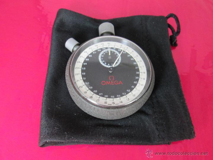 Relojes - Omega: AºCRONÓMETRO-SUIZO-OMEGA ROTRANTE ORIGINAL-COMO NUEVO-54 MM SIN PULSADORES-70S-VER FOTOS. - Foto 4 - 190930236