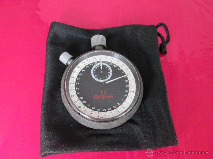 Relojes - Omega: AºCRONÓMETRO-SUIZO-OMEGA ROTRANTE ORIGINAL-COMO NUEVO-54 MM SIN PULSADORES-70S-VER FOTOS. - Foto 5 - 190930236