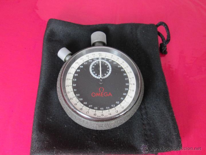 Relojes - Omega: AºCRONÓMETRO-SUIZO-OMEGA ROTRANTE ORIGINAL-COMO NUEVO-54 MM SIN PULSADORES-70S-VER FOTOS. - Foto 6 - 190930236