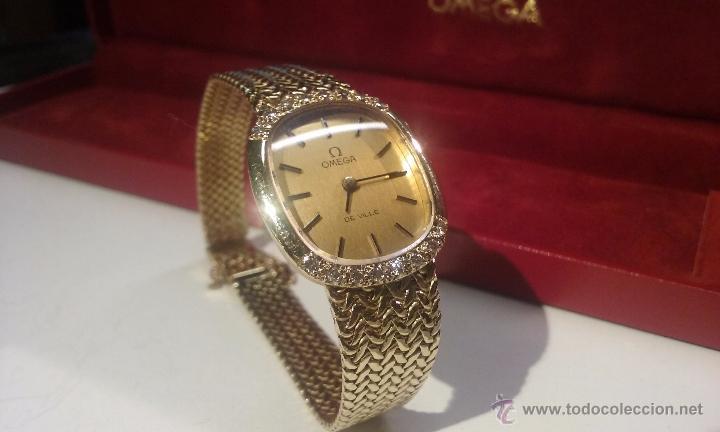 Reloj Omega De Ville Oro