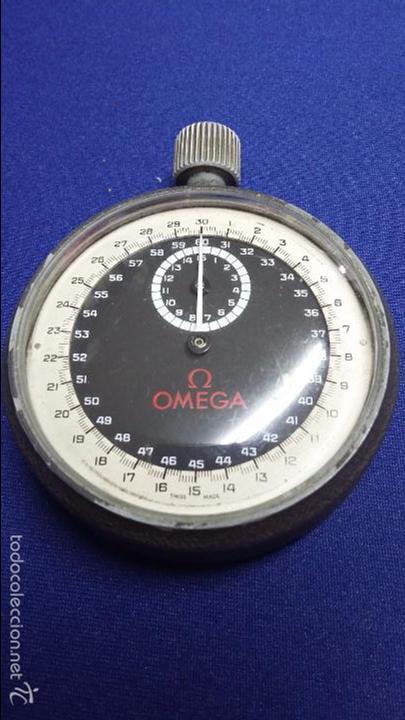 ANTIGUO CRONOMETRO OMEGA-CUERDA. FUNCIONANDO (Relojes - Relojes Actuales - Omega)