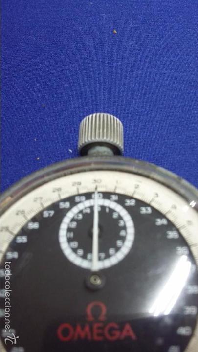 Relojes - Omega: ANTIGUO CRONOMETRO OMEGA-CUERDA. FUNCIONANDO - Foto 2 - 56247577