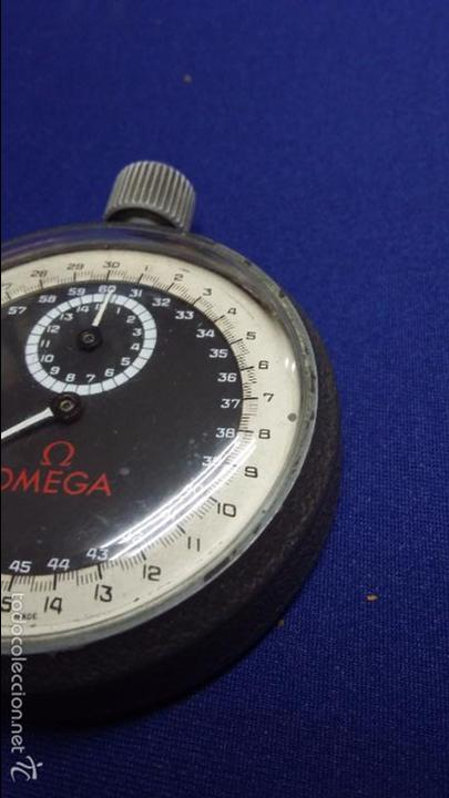 Relojes - Omega: ANTIGUO CRONOMETRO OMEGA-CUERDA. FUNCIONANDO - Foto 4 - 56247577