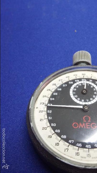 Relojes - Omega: ANTIGUO CRONOMETRO OMEGA-CUERDA. FUNCIONANDO - Foto 5 - 56247577