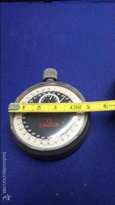 Relojes - Omega: ANTIGUO CRONOMETRO OMEGA-CUERDA. FUNCIONANDO - Foto 11 - 56247577
