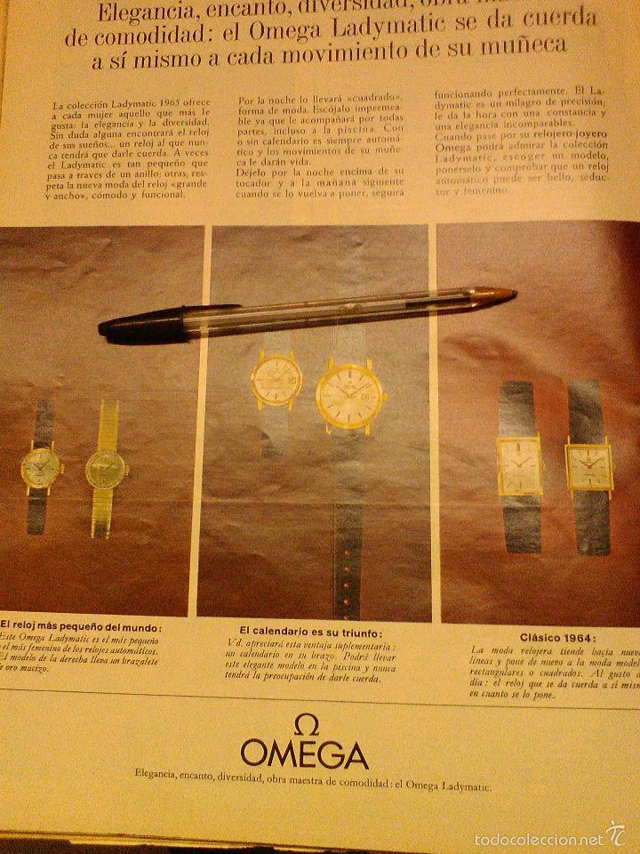 Relojes - Omega: PUBLICIDAD DE RELOJES OMEGA. 13 ANUNCIOS. - Foto 9 - 13804191