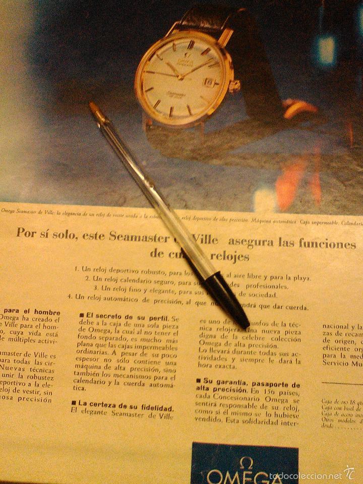 Relojes - Omega: PUBLICIDAD DE RELOJES OMEGA. 13 ANUNCIOS. - Foto 11 - 13804191