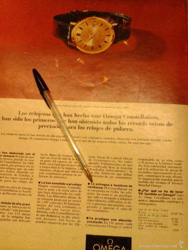 Relojes - Omega: PUBLICIDAD DE RELOJES OMEGA. 13 ANUNCIOS. - Foto 12 - 13804191
