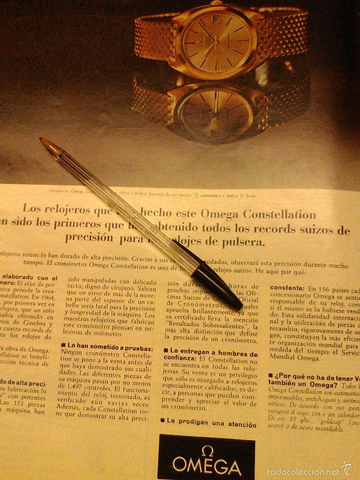 Relojes - Omega: PUBLICIDAD DE RELOJES OMEGA. 13 ANUNCIOS. - Foto 13 - 13804191