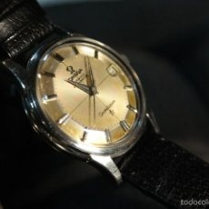Relojes - Omega: OMEGA PIE PAN CONSTELLATION CHRONOMETER AUTOMATIC WRISTWATCH. WITH BOX AND PAPERS. 1962.. Lote 61366431