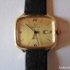Relojes - Omega: VINTAGE RELOJ DE PULSERA CERTINA ORIGINAL AUTOMATICO CHAPADO EN ORO,25X30MM. FUNCIONANAÑOS DO 70. Lote 61798304