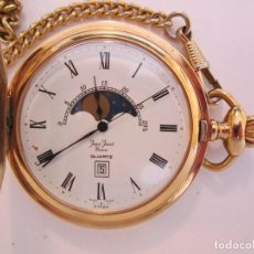 Relojes - Omega: RELOJ DE BOLSILLO SUIZO JEAN JUNOT QUARTZ MUY ORIGINAL FUNCIONANDO. Lote 61804500