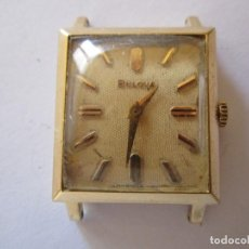 Relojes - Omega: RELOJ SUPER RETRO MUJER BULOVA CHAPADO EN ORO, FUNCIONANDO. Lote 61996856
