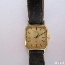 Relojes - Omega: RELOJ SUPER RETRO RICOH CHAPADO EN ORO SEÑORA FUNCIONANDO PERFECTAMENTE 16X19MM.AÑOS 30. Lote 61998096