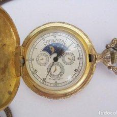 Relojes - Omega: ORIGINAL RELOJ DE BOLSILLO CORIENTAL 47MM.FUNCIONANDO PERFECTAMENTE. Lote 61998344