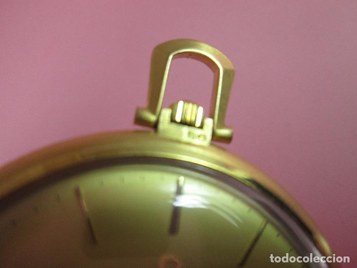 Relojes - Omega: RELOJ-SUIZO-OMEGA DE VILLE QUARTZ-CALIBRE 1342-PLAQUÉ ORO 20 MICRAS-47x57 MM-CONTRASTES-VER FOTOS. - Foto 14 - 65761586