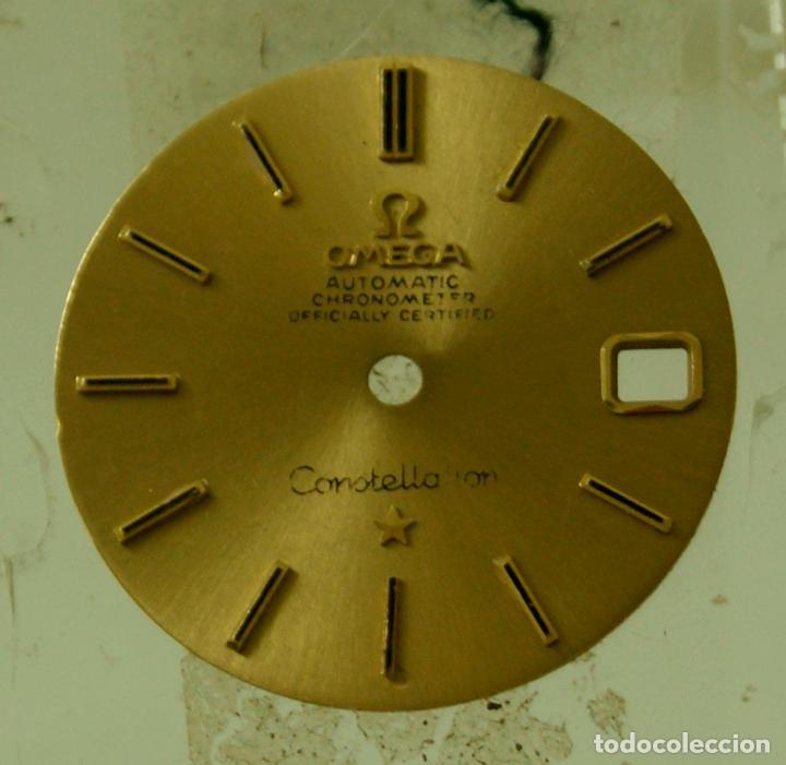 Relojes - Omega: ESFERA OMEGA CONSTELLATION ORO 18K PRECIOSA - Foto 2 - 69870265