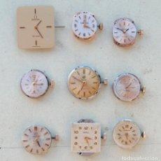 Relojes - Omega: LOTE DE 9 CALIBRES OMEGA LONGINES CYMA Y CERTINA. Lote 72274683
