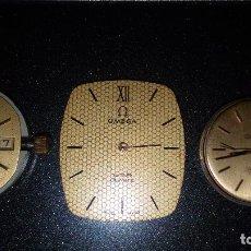 Relojes - Omega: OMEGA RELOJES MAQUINA O PARES PARA PIESASO O PARA AREGLAR. Lote 80908384