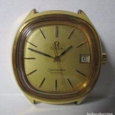 Relojes - Omega: ANTIGUO RELOJ VINTAGE OMEGA SEAMASTER QUARTZ HOMBRE 40MM CHAPADO ORO ESCASO. Lote 80788230