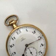 Relojes - Omega: OMEGA BIENNE GENEVE ORO RELOJ BOLSILLO POCKET GOLD. Lote 83422992