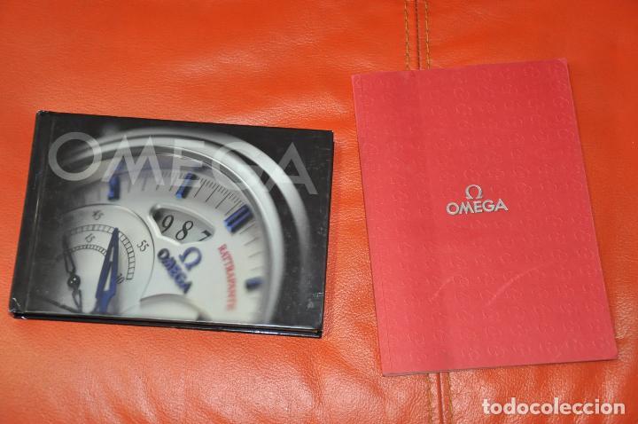LOTE DE 2 CATALOGOS DE RELOJES OMEGA , AÑO 2001 Y AÑO 2005 (Relojes - Relojes Actuales - Omega)