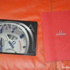 Relojes - Omega: LOTE DE 2 CATALOGOS DE RELOJES OMEGA , AÑO 2001 Y AÑO 2005. Lote 85124984