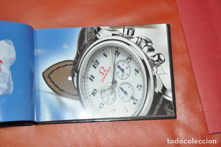 Relojes - Omega: LOTE DE 2 CATALOGOS DE RELOJES OMEGA , AÑO 2001 Y AÑO 2005 - Foto 2 - 85124984