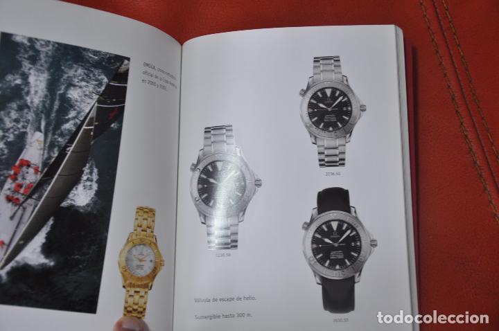 Relojes - Omega: LOTE DE 2 CATALOGOS DE RELOJES OMEGA , AÑO 2001 Y AÑO 2005 - Foto 5 - 85124984