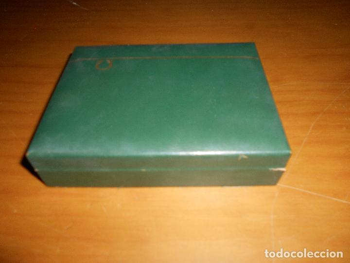 Relojes - Omega: Caja Madera para reloj omega original vintage años 60 70 coló verde - Foto 5 - 214187643