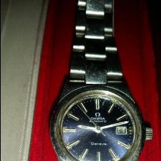 Relojes - Omega: RELOJ OMEGA SEÑORA ACERO TODO ORIGINAL Y FUNCIONANDO( LEER DESCRIPCION). Lote 87301180