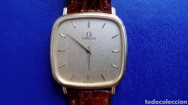 OMEGA DE ORO 18 K...CABALLERO..AÑOS 80 (Relojes - Relojes Actuales - Omega)