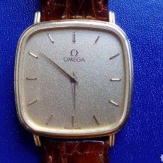 Relojes - Omega: OMEGA DE ORO 18 K...CABALLERO..AÑOS 80. Lote 91314940