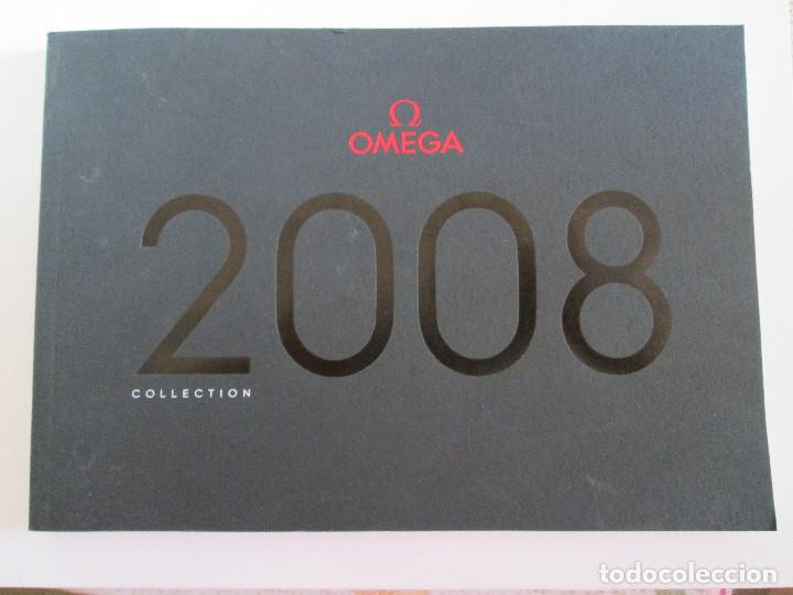 CATALOGO RELOJES OMEGA - 2008 - COLLECTION - 163 PAGINAS - 24X17 (Relojes - Relojes Actuales - Omega)